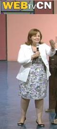 Cofundadora do Shalom prega na Canção Nova