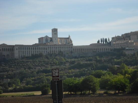 Vista da Basílica Maior de longe