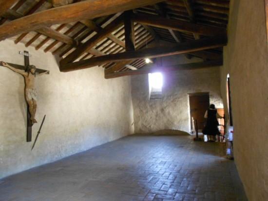 Quarto onde faleceu viveu e faleceu santa Clara de Assis