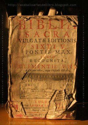 Fac-símile de edição latina da Bíblia