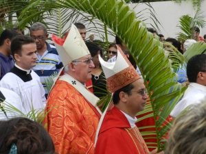 Arcebispo  presidiu celebração.