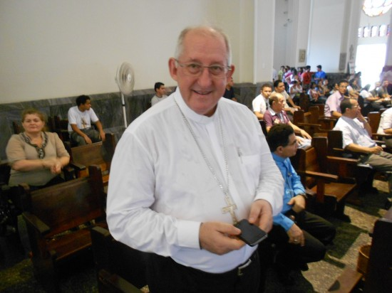 Dom José Antonio é o pastor do segundo rebanho mais católico do país.