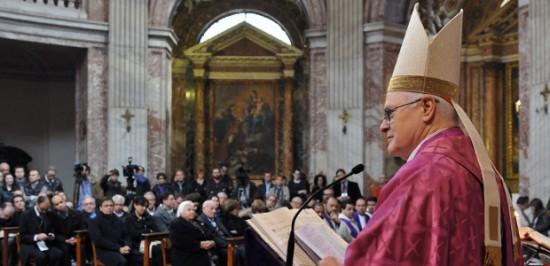 """""""Jesus vai ao encontro de todos"""". Dom Odilo em sua homilia / Foto: Clarissa Oliveira – CN Roma"""