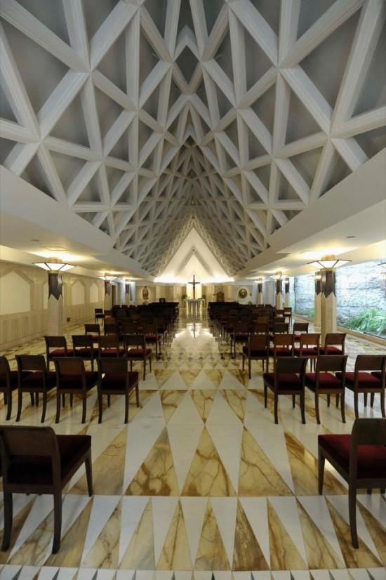 Vaticano Divulga Fotos Da Casa Santa Marta Ancoradouro