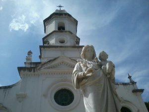 Frente da Igreja. Foto: Wallace Freitas.
