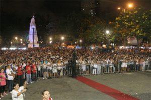 Imagem da festa da 13 de maio em 2012