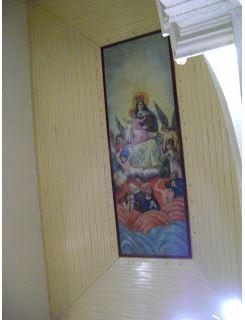 Pintura de Raimundo Cotoco. Foto: arquivo Blog Fortaleza em Fotos. Autora: Fátima Garcia.