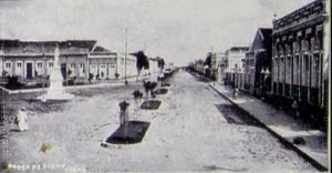 Praça do Carmo (1931). Foto: arquivo blog Fortaleza Nobre