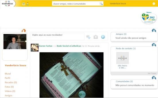 Rede social é lançada focando público católico.
