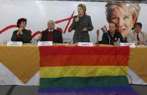Marta Suplicy é considerada a madrinha gay do Brasil.