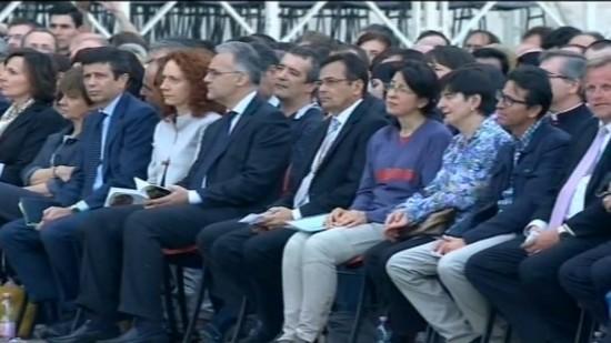 Moysés Azevedo e outros fundadores de Movimentos Eclesiais.