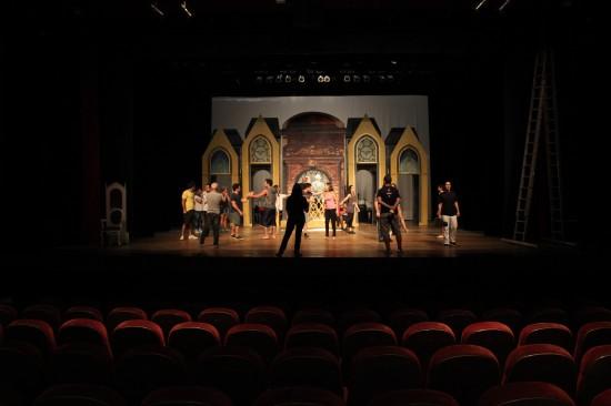 Visão geral do palco.ShalomDivulgação|Wallace Freitas