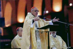 Cardeal Bergoglio no Brasil durante encontro do CELEM