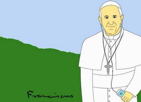 """""""encontrar um novo equilíbrio"""", diz papa Francisco."""