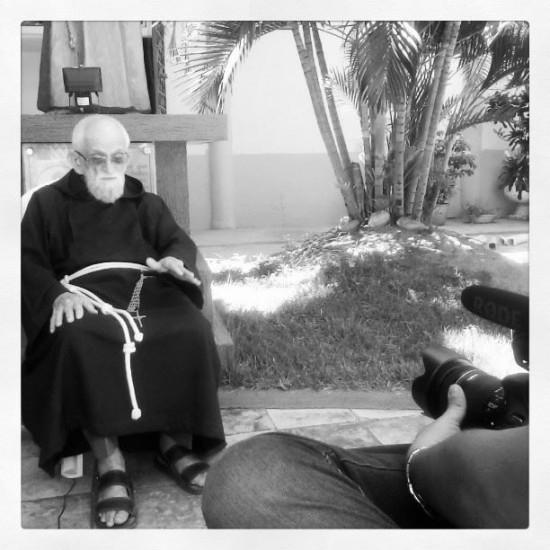 Frei Roberto: 69 anos de sacerdócio.