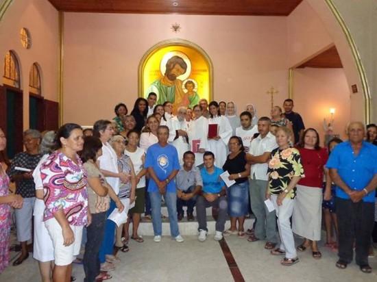 Missa em Ação de Graças pela vida de Frei Roberto em Maracanaú.