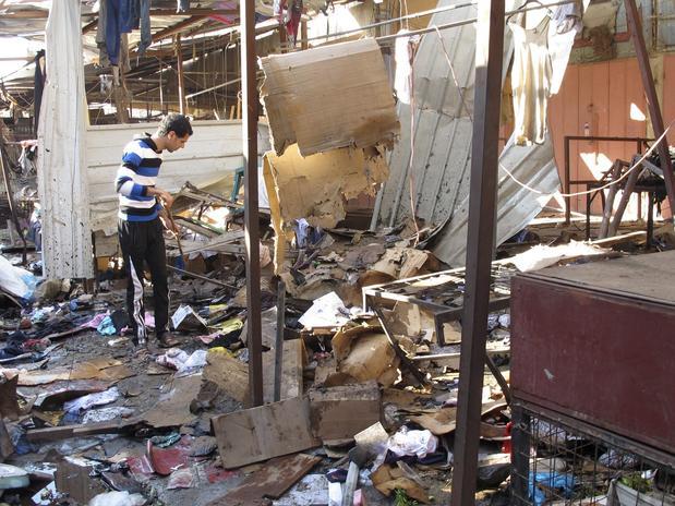 Ataque no mercado em Bagdá once concentra população de cristãos. Foto: Reuters