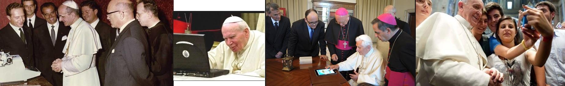 Papas têm recomendado o uso das novas tecnologias aos Leigos. Estes resistem.