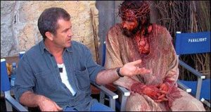 Mel Gibson e ator que interpretou Jesus.
