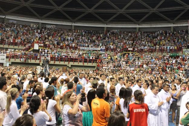 Missa no Renascer. Foto: Divulgação Shalom - Wallace Freitas
