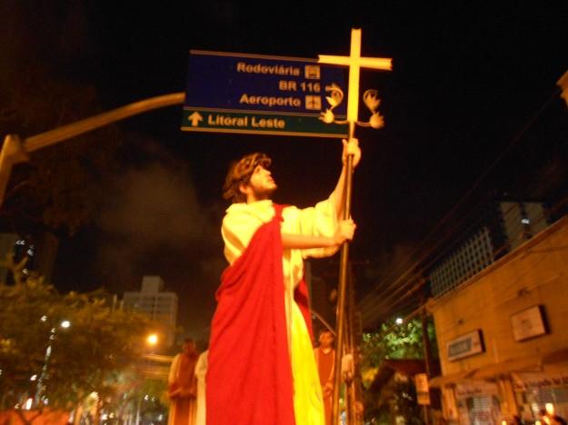 Via Sacra prepara fieis para a Semana Santa