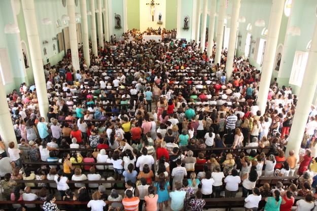 Festa acontece todo segundo  domingo da Páscoa