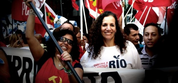 Jandira é candidata ao  Governo do Rio de Janeiro.