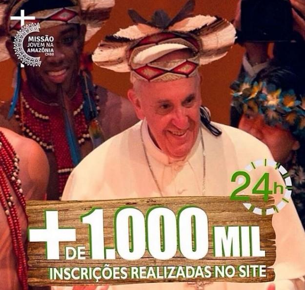 Jovens passarão 10 dias em missão na Amazônia.