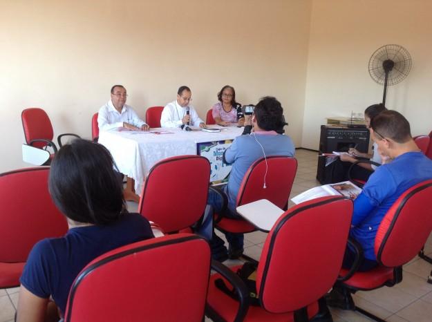 Dom Vasconcelos presidiu o lançamento da Campanha.