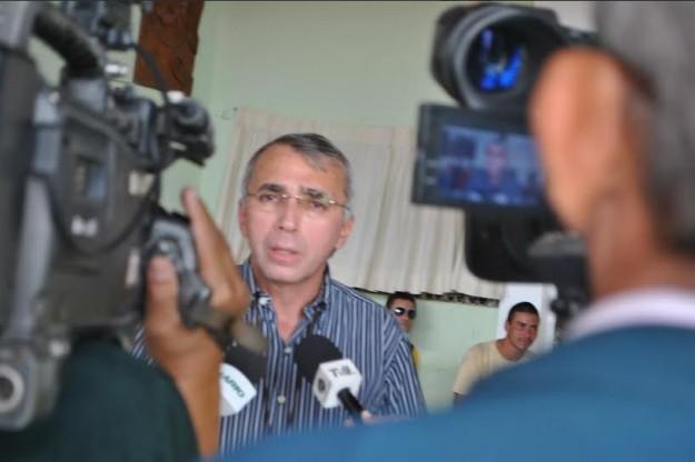 João Patriolino atende à imprensa para apresentar os números do #NovoHalleluya