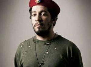 Jean Wyllys posando de Che Guevara.