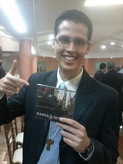 Rafael Morel com o CD Basta Querer.