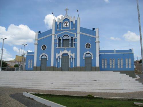 Paróquia do Imaculado Coração de Maria em Morrinhos.