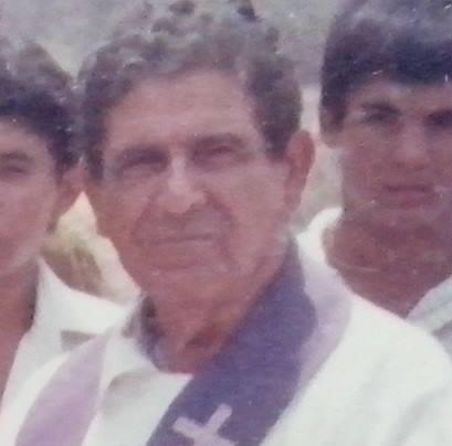 Padre Ximenes que influenciou a vocação de Pe. Jacó.