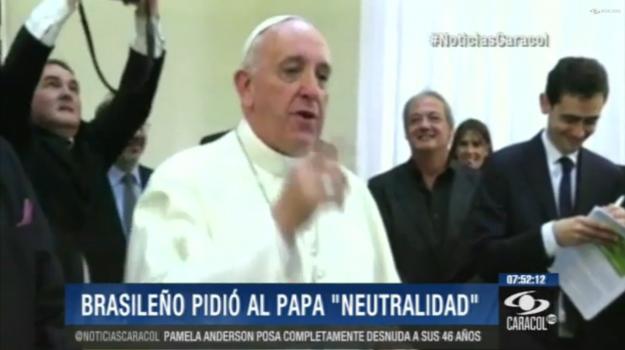 papa francico copa do mundo ancoradouro