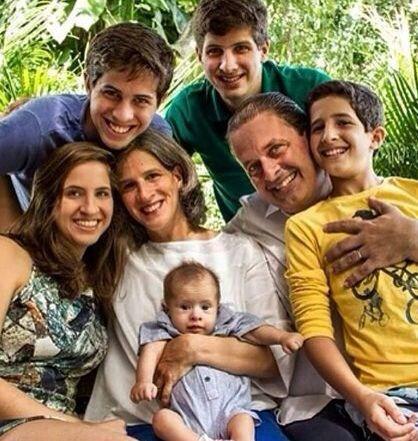 Família de Eduardo Campos.