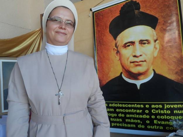 Irmã Elisabeth tem 32 anos de vida religiosa.