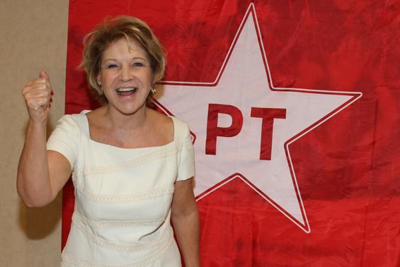 Marta Suplicy, Ministra da Cultura.