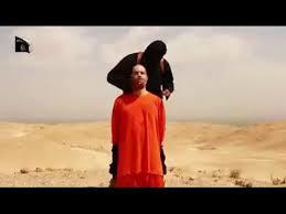 Terroristas do Islã filmaram a execução do jornalista.
