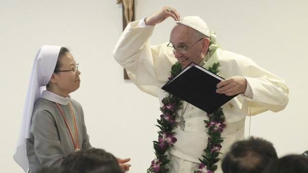Papa Francisco na Coréia do Sul.