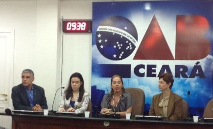 Luiz Eduardo Girão,Karla montenegro, Rossana Kopf, Lenise Garcia.