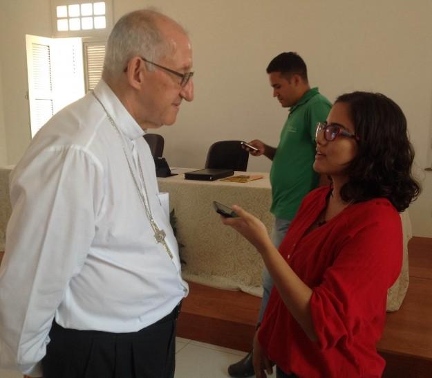 Arcebispo fala ao Shalom.