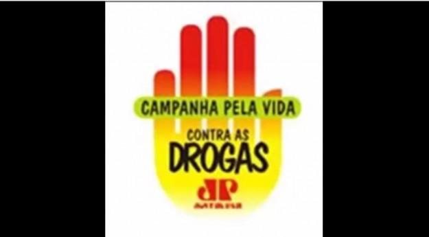 Jovem Pan lidera campanha contra as drogas.