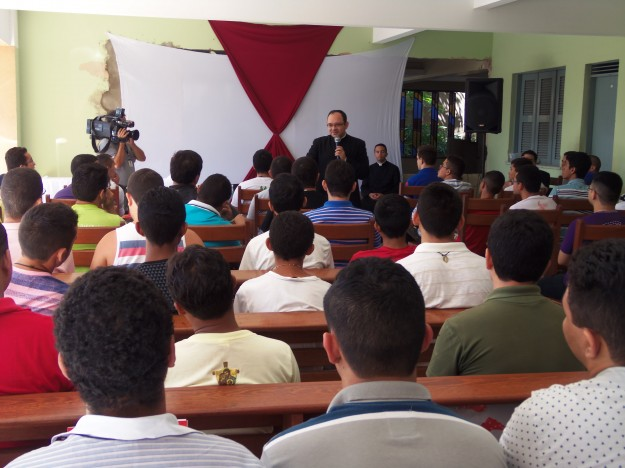 Encontro Vocacional da Arquidiocese de Fortaleza.