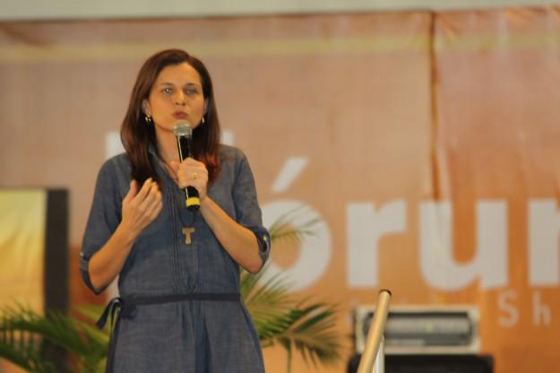 Gabriella Dias ministrará um dos Workshops