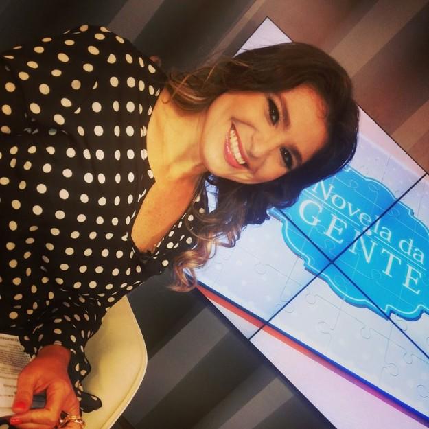 Ana Flávia Bezerra é repórter e apresentadora do Sistema Jangadeiro de Comunicação.