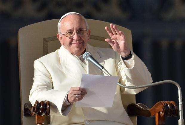 Papa Francisco diz não à ideologia do gênero.