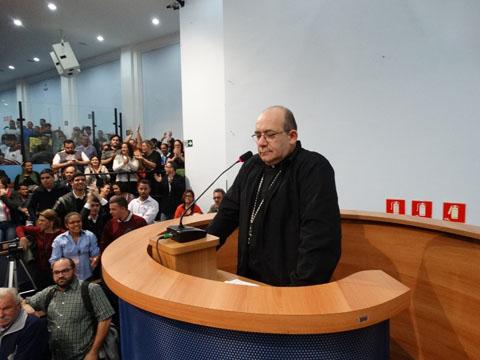 Dom Edmilson Caetano.