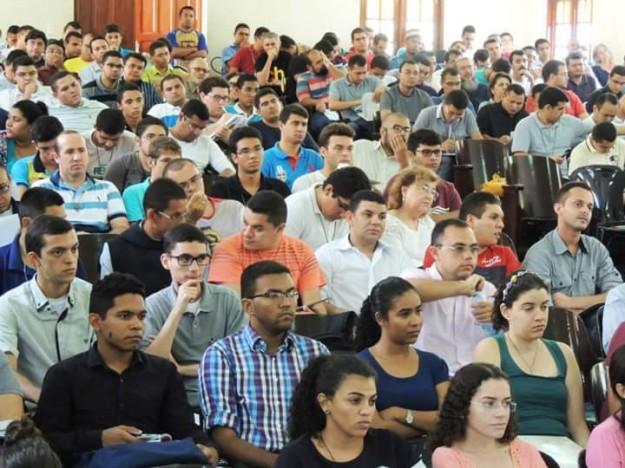 Participantes do X Simpósio de Filosofia.