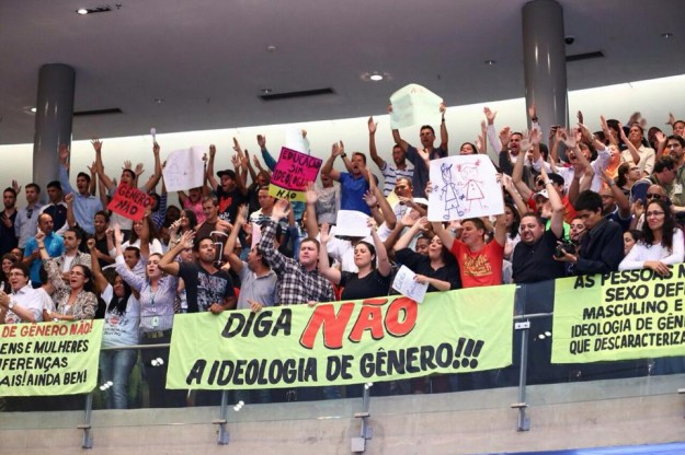 ideologia do genero brasilia